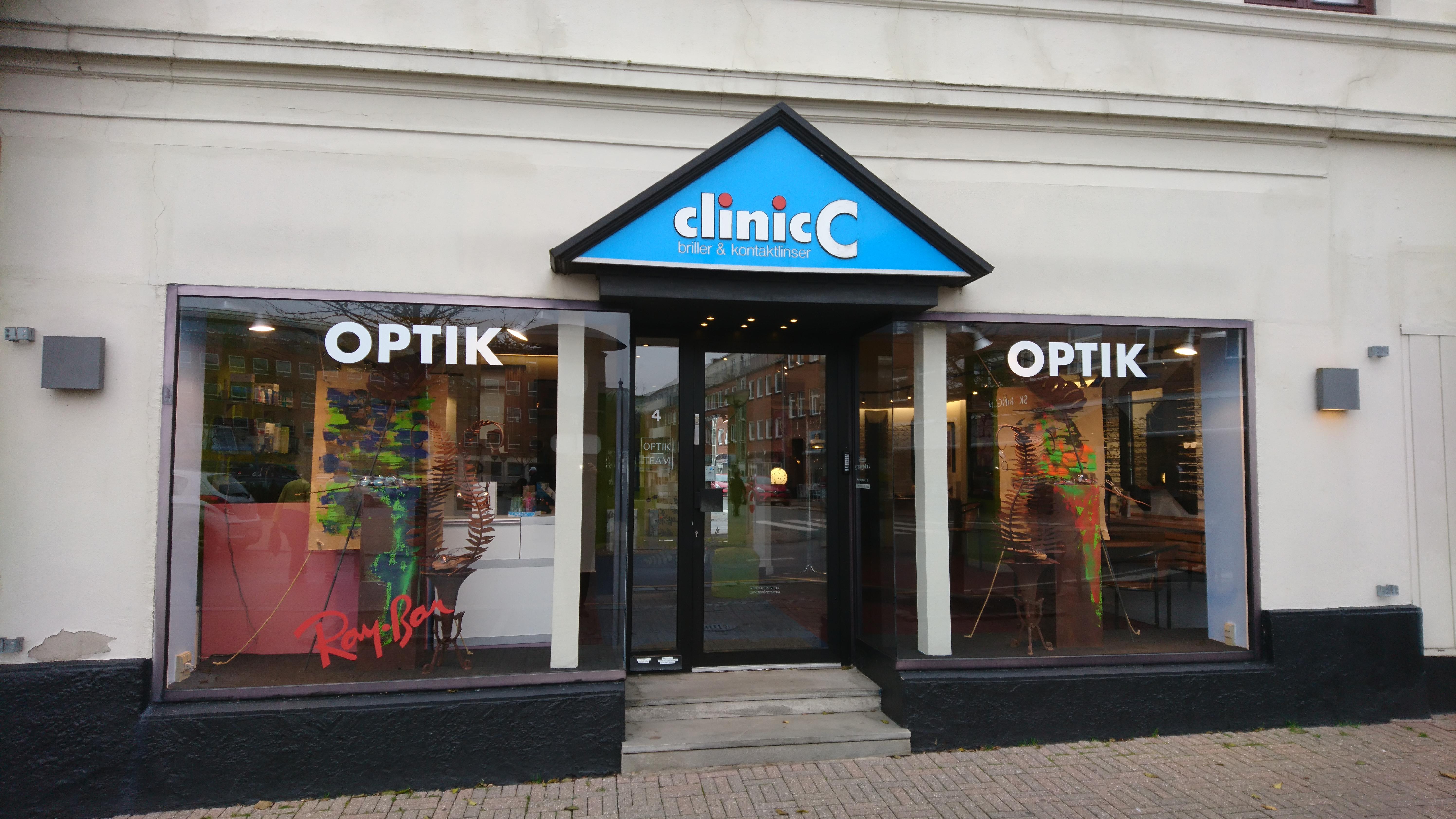 e1784b6b2753 Clinic C kontaktlinser og briller i Slagelse- Business Slagelse - Sammen er  du bedst