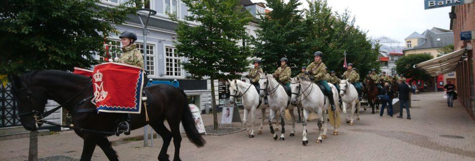 Hesteeskardronen fra Gardehusarregimentet