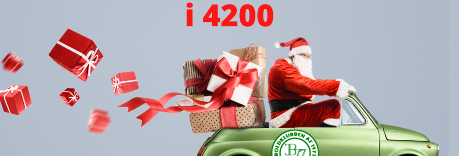 Gratis levering 4200