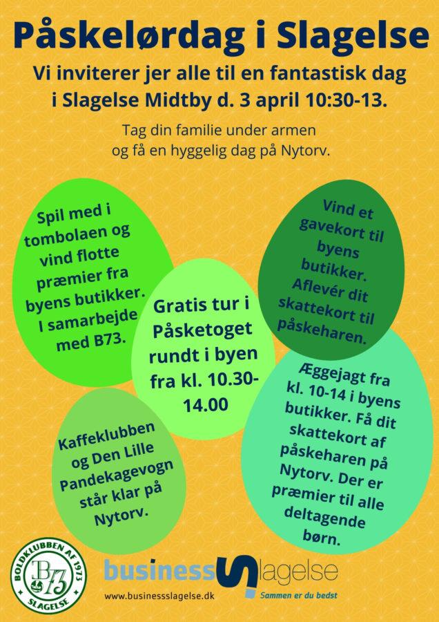 Påskelørdag Slagelse Midtby
