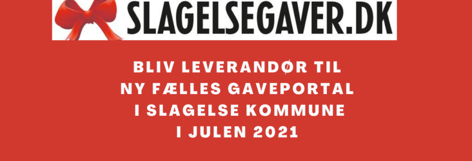 Ny gaveportal: slagelsegaver.dk