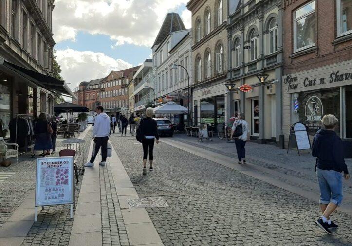 Rosengade i Slagelse Midtby